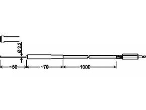 Greisinger GOF 175MINI Povrchový rychlý snímač pro pevné povrchy