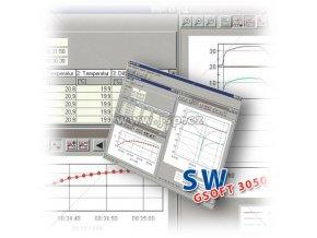 Greisinger GSOFT 3050 Software s loggerovými funkcemi a poplachem