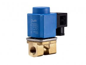2/2cestný el.mag. ventil s pomocným zdvihem EV251B, DN12, NC, 24VDC