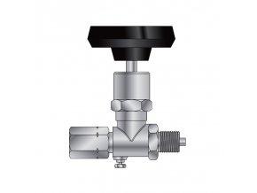 Ventil tlakoměrový uzavírací typ 1 110 405