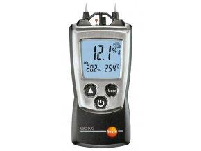 Testo 606-2 Přístroj pro měření vlhkosti dřeva a materiálů s integrovaným měřením vlhkosti a NTC sondou pro měření teploty vzduchu