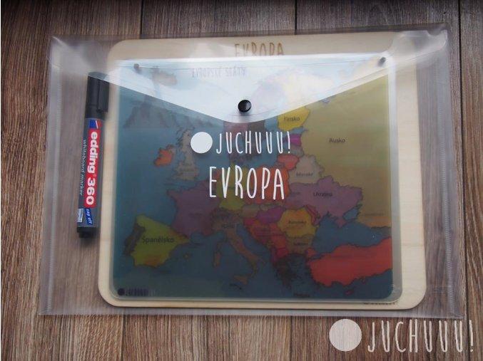 Mapy Evropy