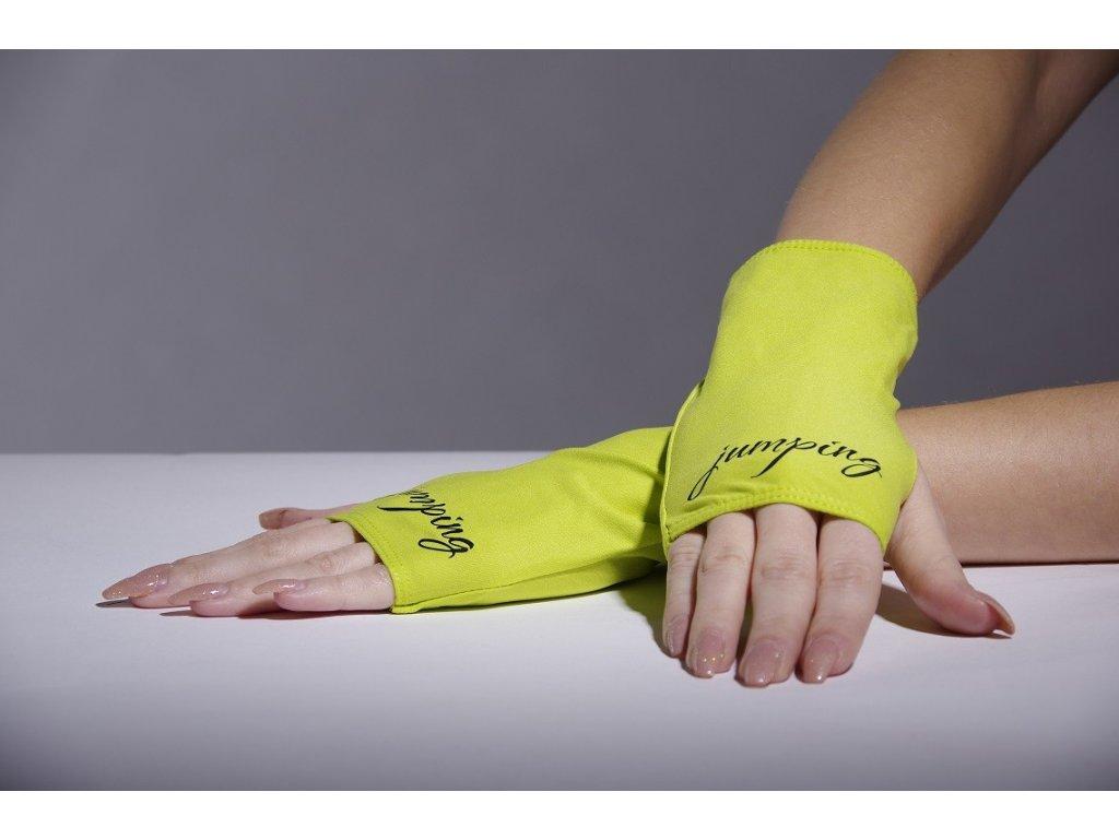 Jumping rukavičky zelené