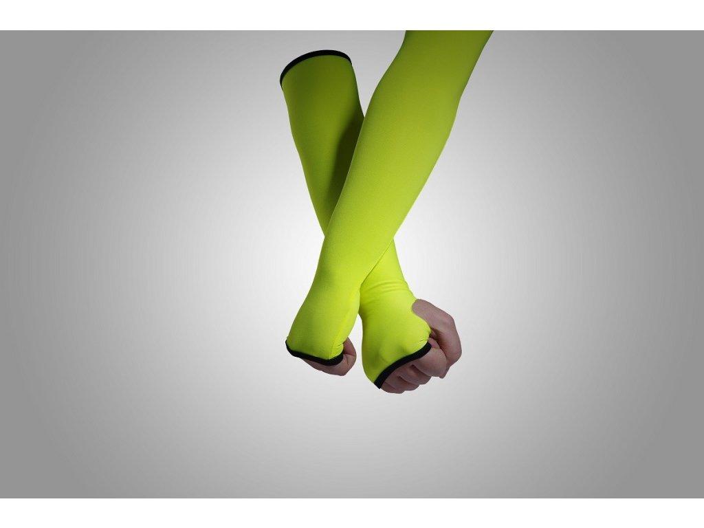 Jumping žlutý rukáv