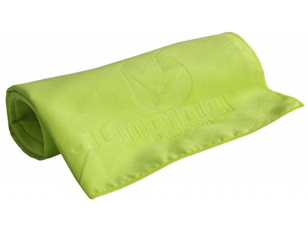 Jumping Gelbes Handtuch