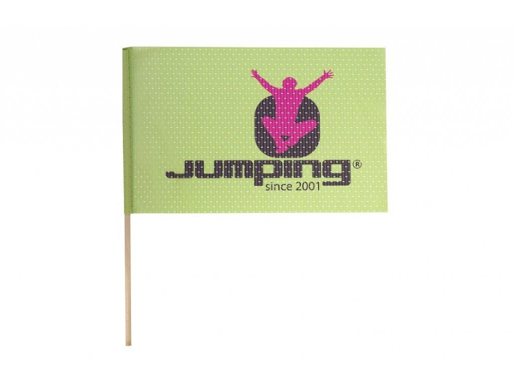 Jumping Kleine Flagge