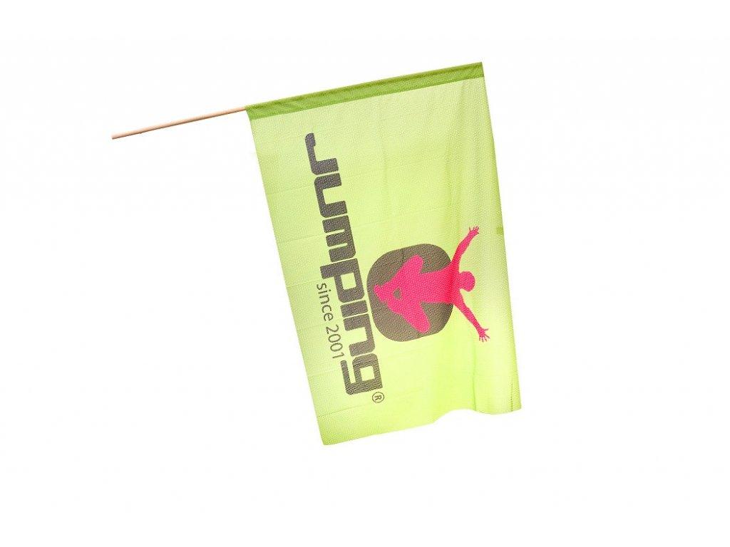 Jumping Große Flagge