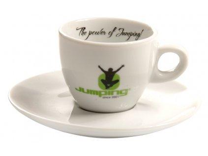 Jumping® Espresso-Tasse mit Untertasse 60 ml 4 PC / Satz.