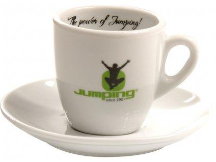 Jumping® Espresso-Tasse mit Untertasse 90 ml 4 PC / Satz.