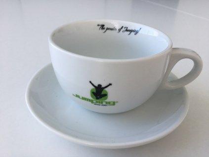 Jumping® Cup & saucer Jumbo Cappuccino set 200 ml 2pcs / pack.