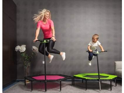 """Package """"Like mother, like child"""" with trampoline FLEXI and for kids"""