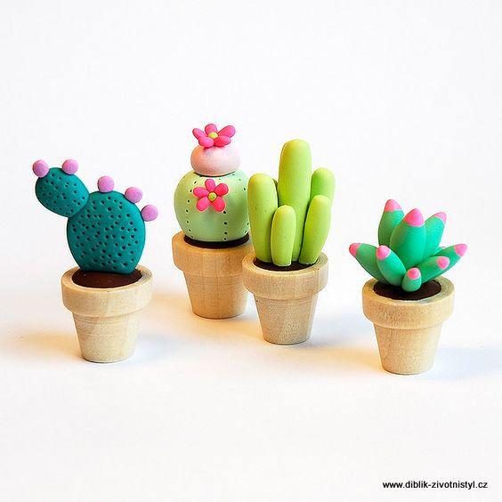 Honza Diblíček představuje kaktusy z hmoty JumpingClay