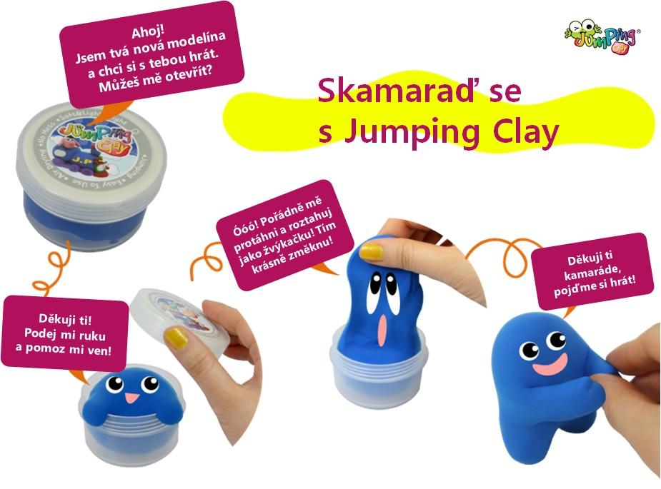 Skamaraď se s Jumping Clay