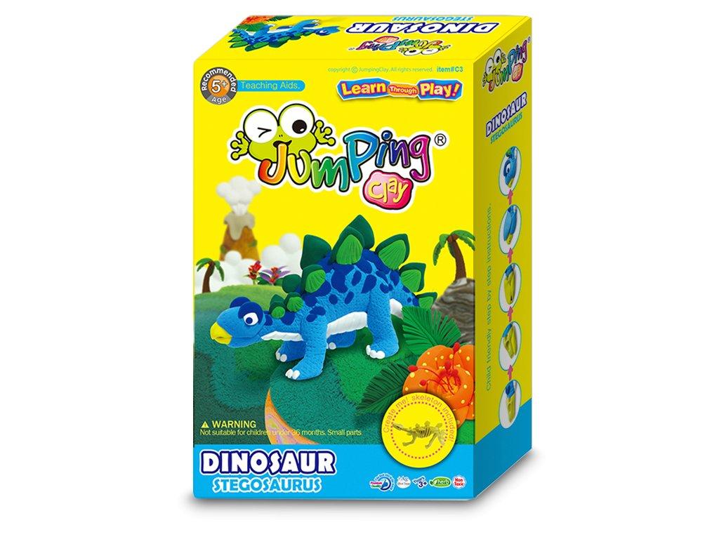JumpingClay Stegosaurus