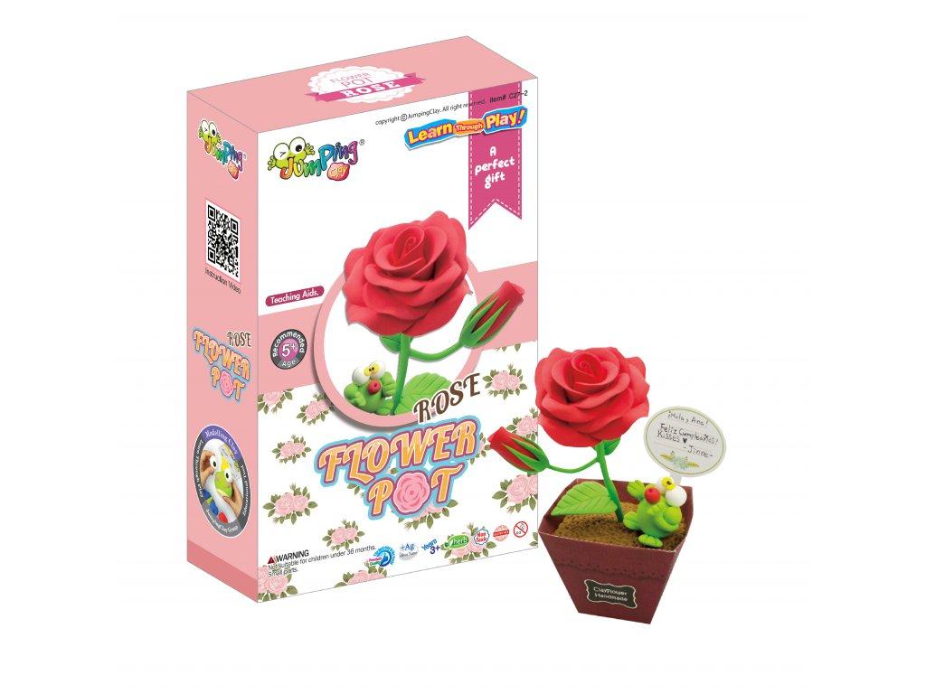 flowerpot rose jumpingclay1