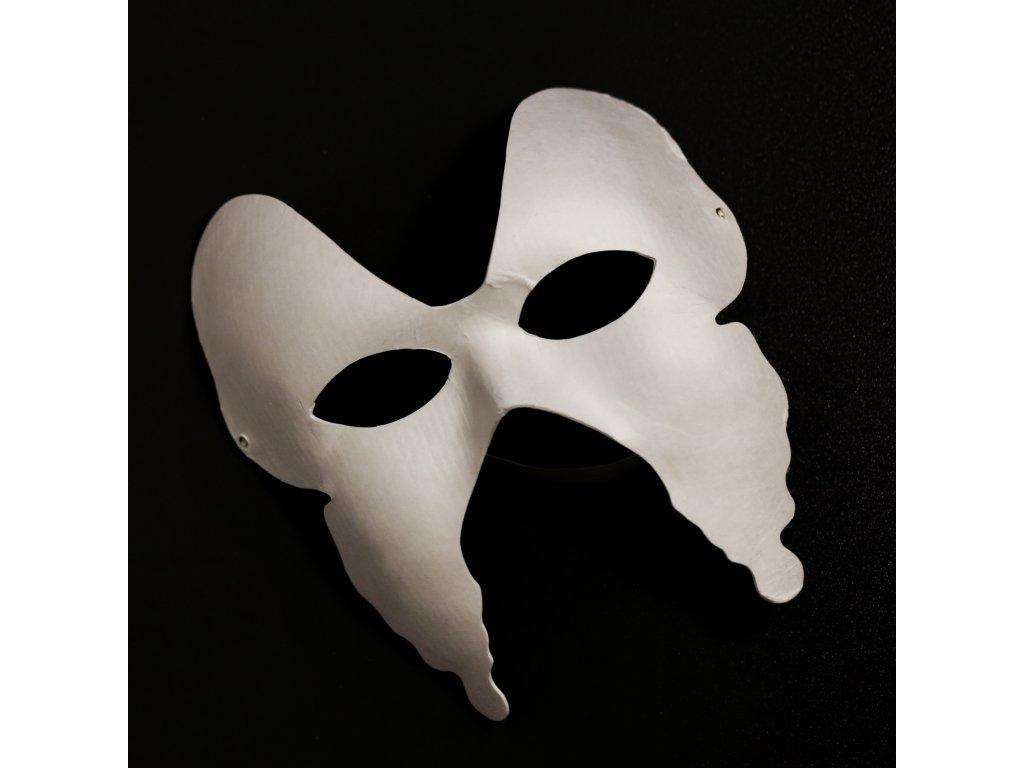 Maska motýl k ozdobení modelínou Jumping Clay