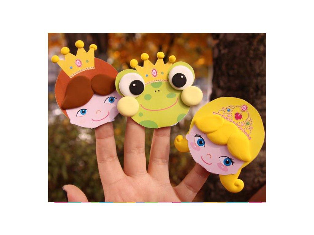 Žabí princ modelína JumpingClay