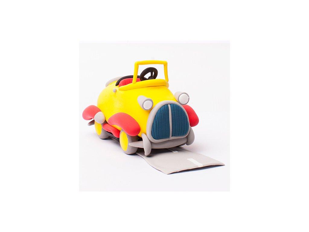 Modelína Jumping Clay, 50 g, různé barvy v uzavíratelném sáčku