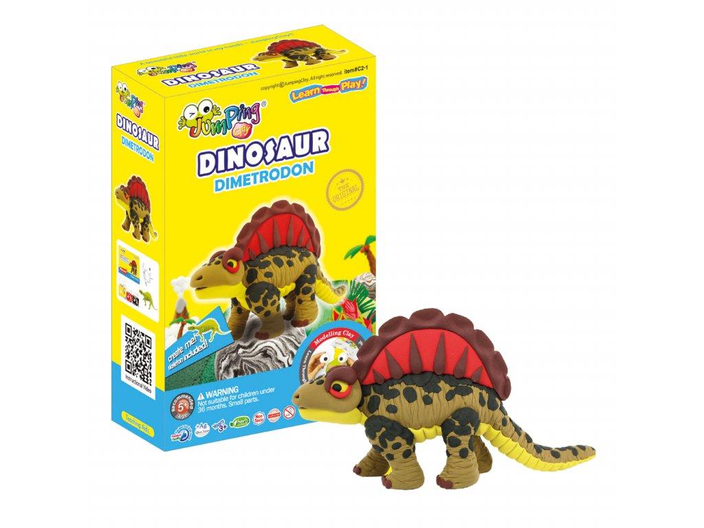 dinosaur dimetrodon jumpingclay1