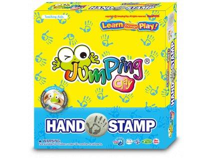 JumpingClay otisk ruky