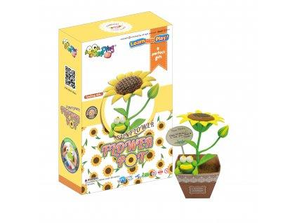 flowerpot sunflower jumpingclay1