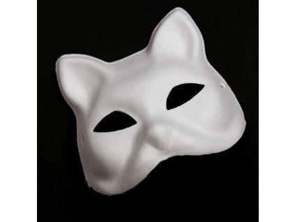 Maska kočka k ozdobení modelínou Jumping Clay
