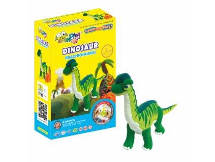 dinosaur braquiosaurus jumpingclay1