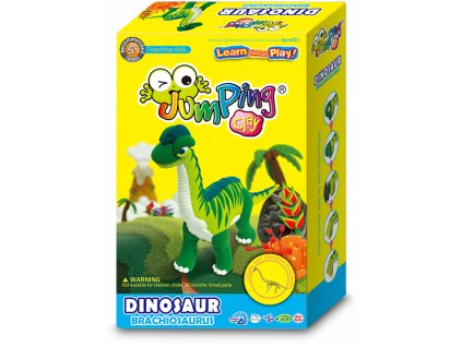 JumpingClay brachiosaurus