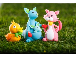 Kids set 6 barev Jumping Clay
