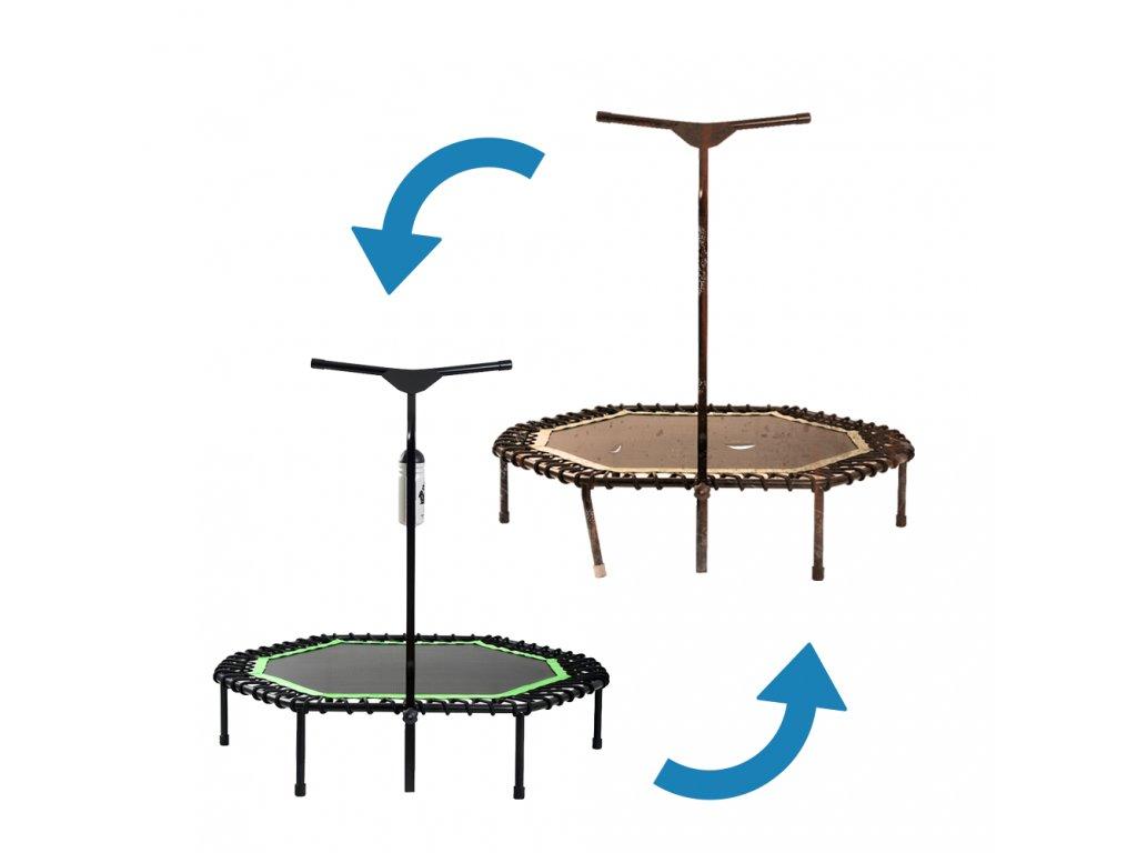 REPAS 8 hranné - Ze staré trampolíny uděláme novou