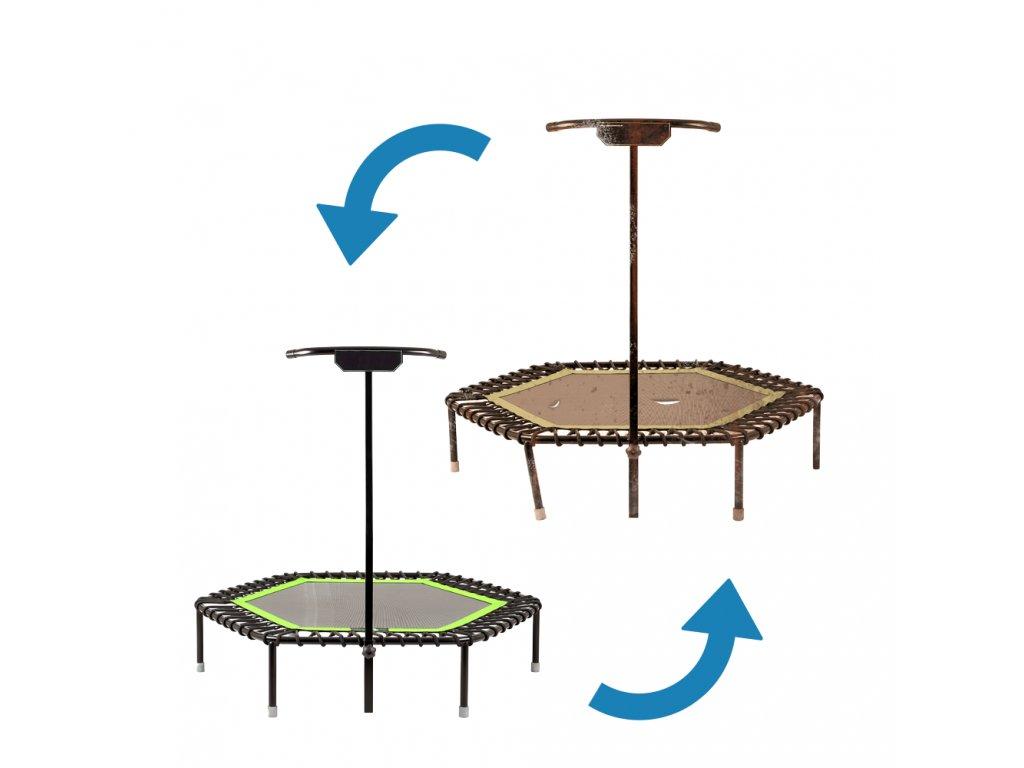 REPAS 6-hranné - Ze staré trampolíny uděláme novou