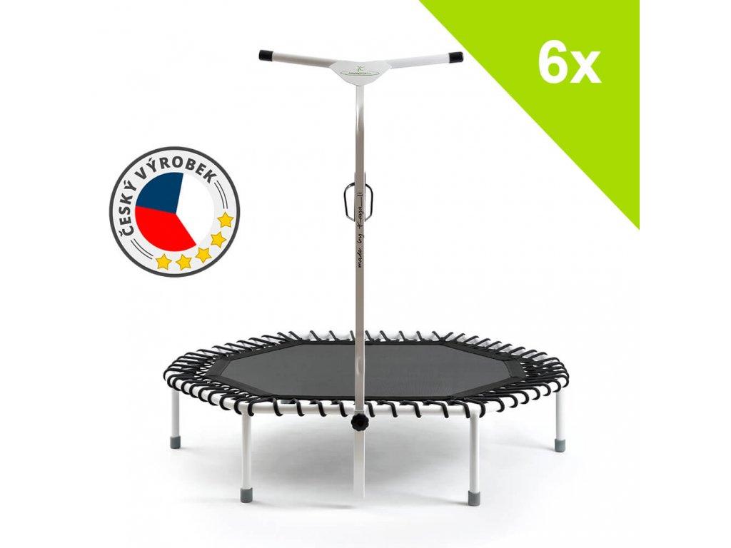 6x JumpingSPORT trampolína made by KAYA-LI