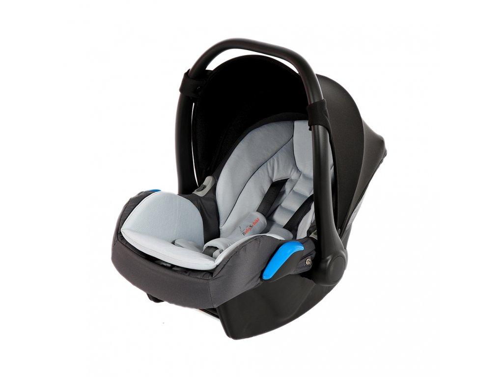 Junama Autosedačka 0-13 kg  BabySchild Yannie Graphite