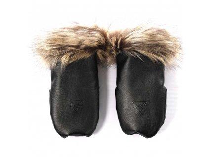 172688 rukavice igloo termo glitter jet black