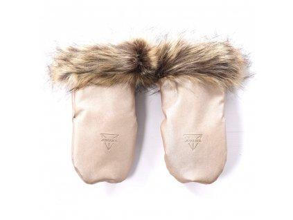 172706 rukavice igloo termo glitter rose beige