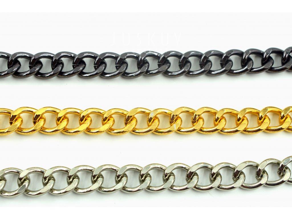 Řetěz plochý - 15 x 13 mm