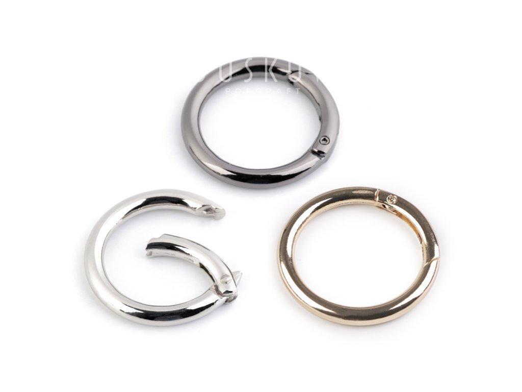 Karabina kroužek -  Ø 25 mm