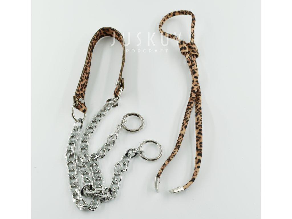 Sada na výrobu tašky - leopard