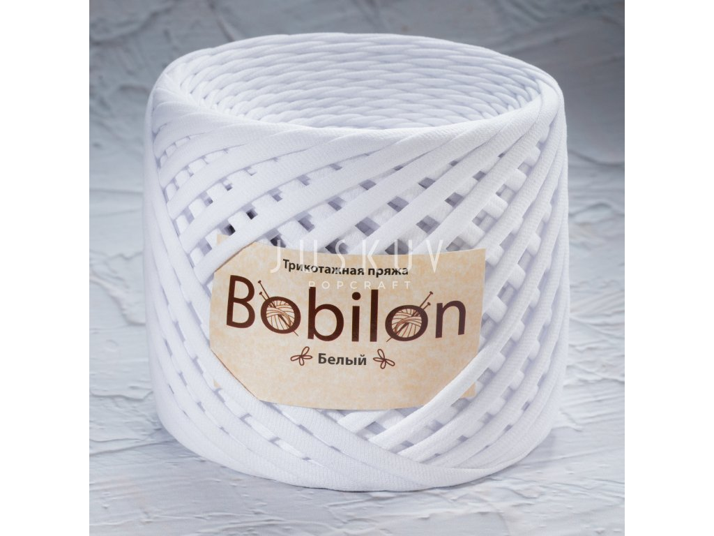 Špagáty Bobilon 5-7 mm Mini -  Snow white