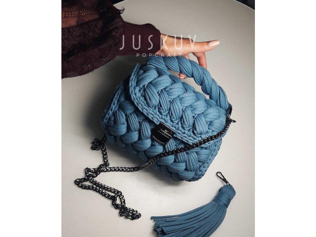 Zeffirka - modrá blue melange