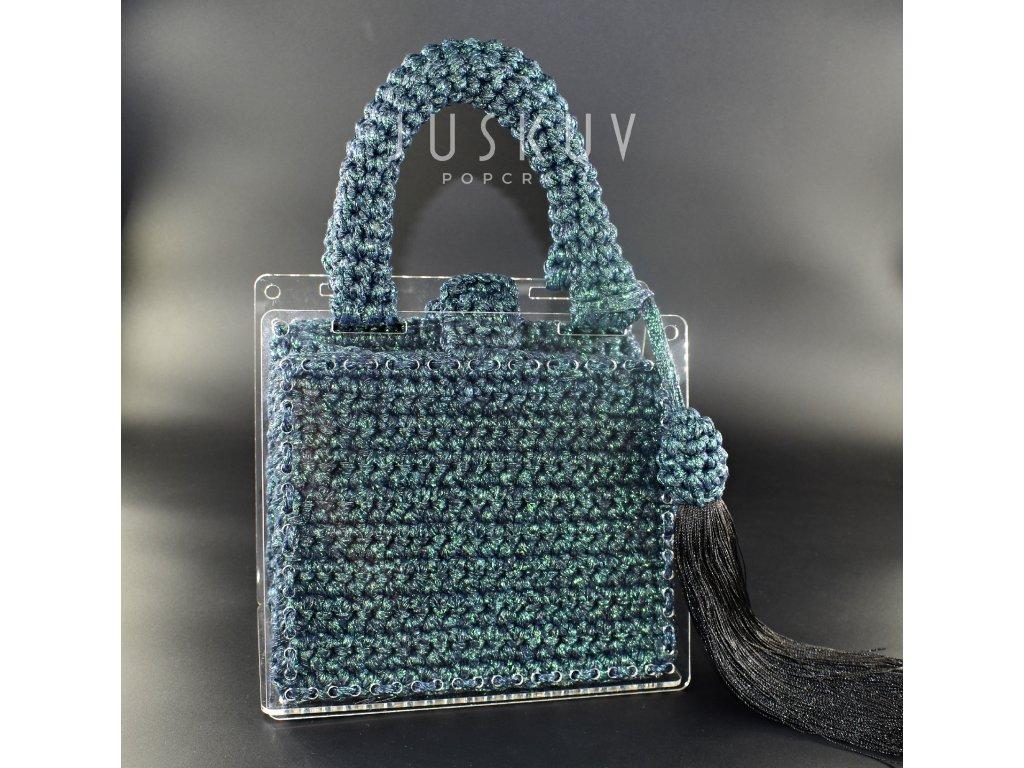 Luxusní kabelka - Emerald