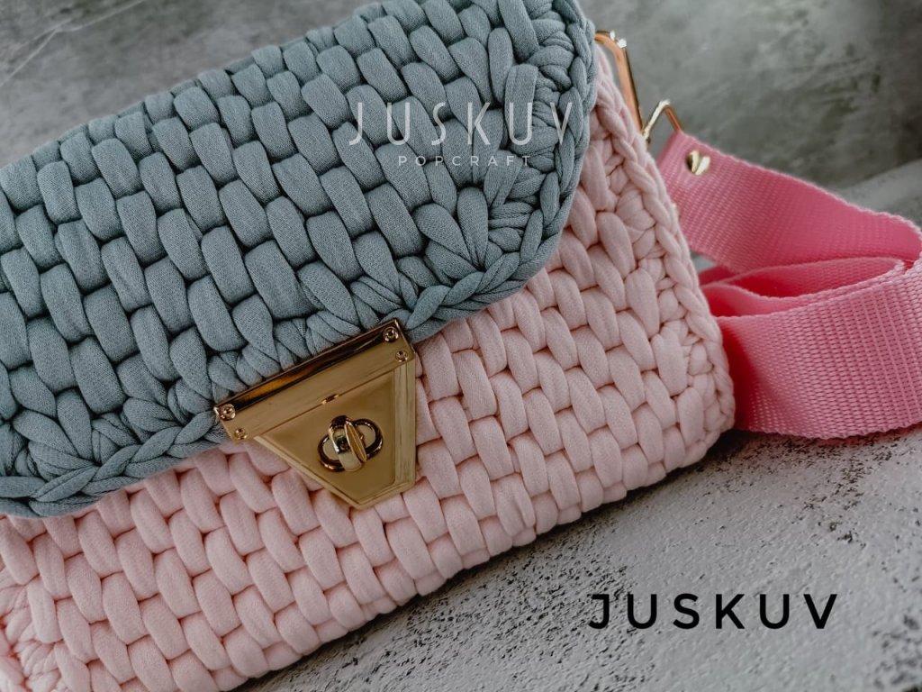 Luxusní kabelka - space gray pink