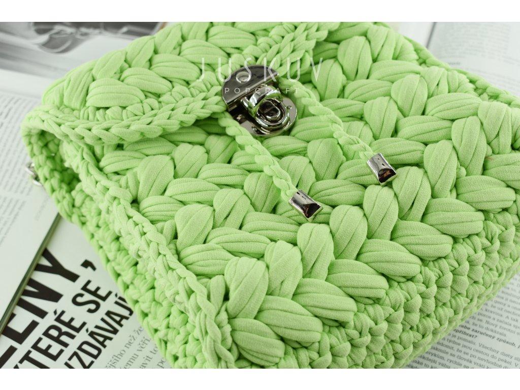 Batoh Zeffirka - zelená pistachio