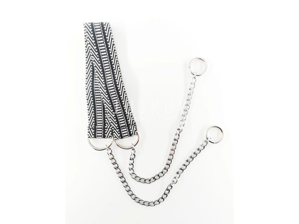 ramenní popruh na tašku s řetězem