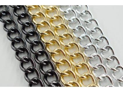 Řetěz kulatý - 17 x 13 mm