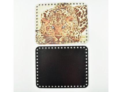 obdélníkové víko - gepard