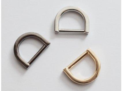 Designový polokroužek šíře 13 mm