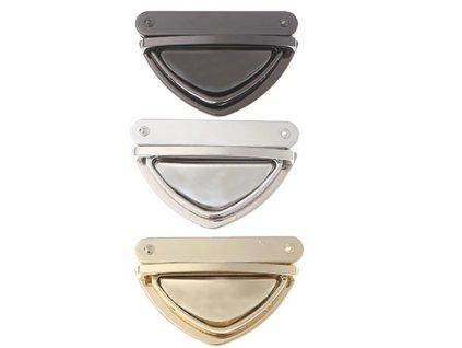 zapínání na kabelku - trojúhelník
