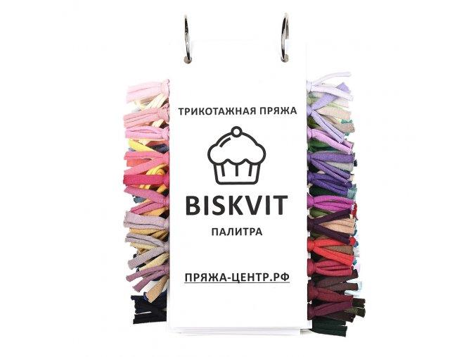 Biskvit Vzorník barev
