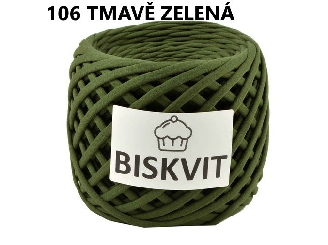 Biskvit 106 Tmavě zelená